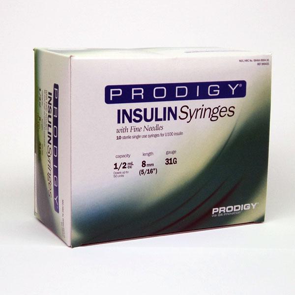 insulin syringes